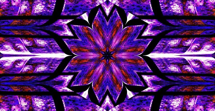 Lotus In Glow 14  Print