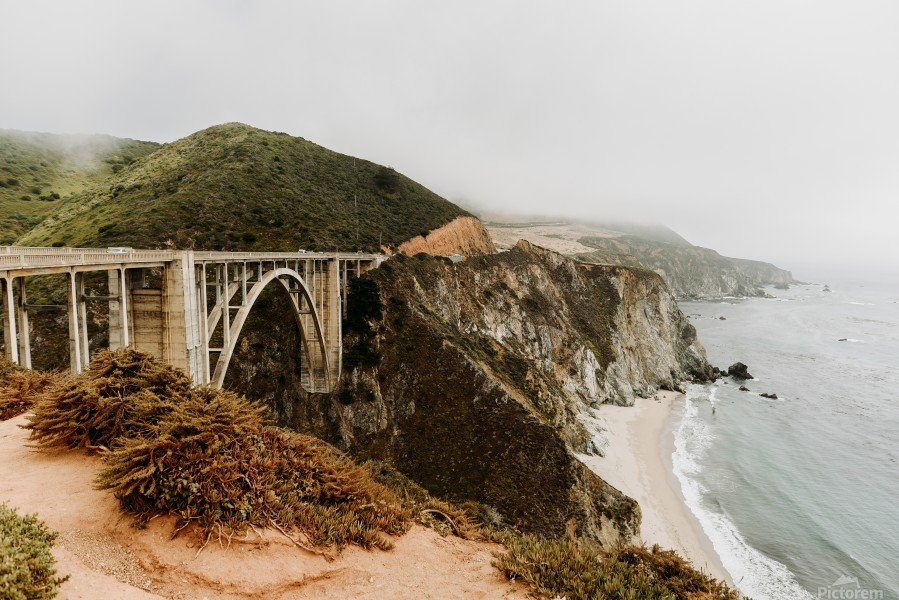Bixby Bridge California  Imprimer