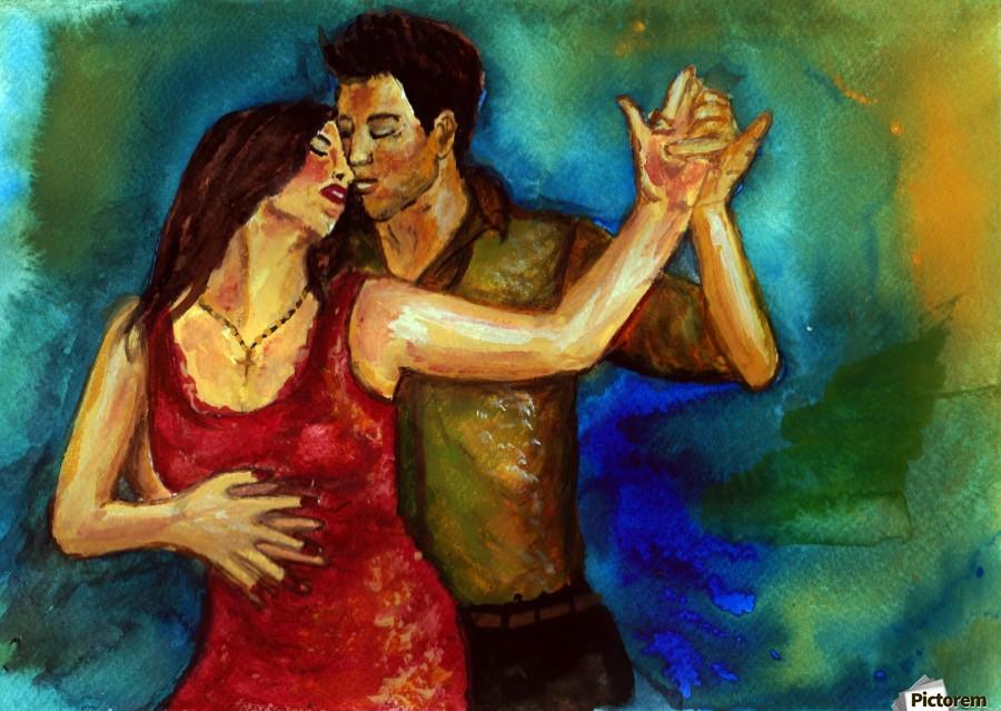 dancers  Print