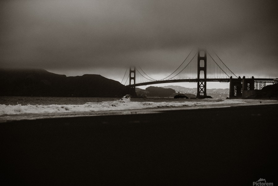 B&W Golden Gate  Imprimer