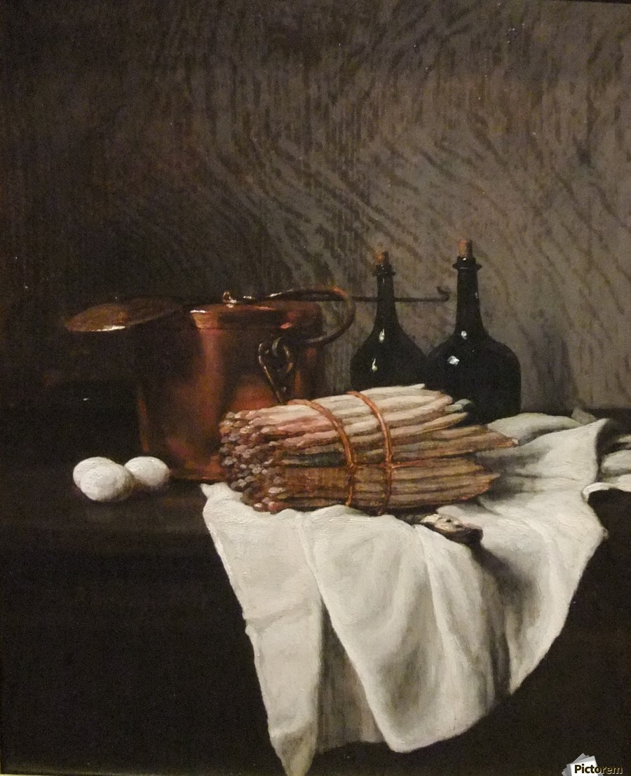 Still life on withe cloth  Print