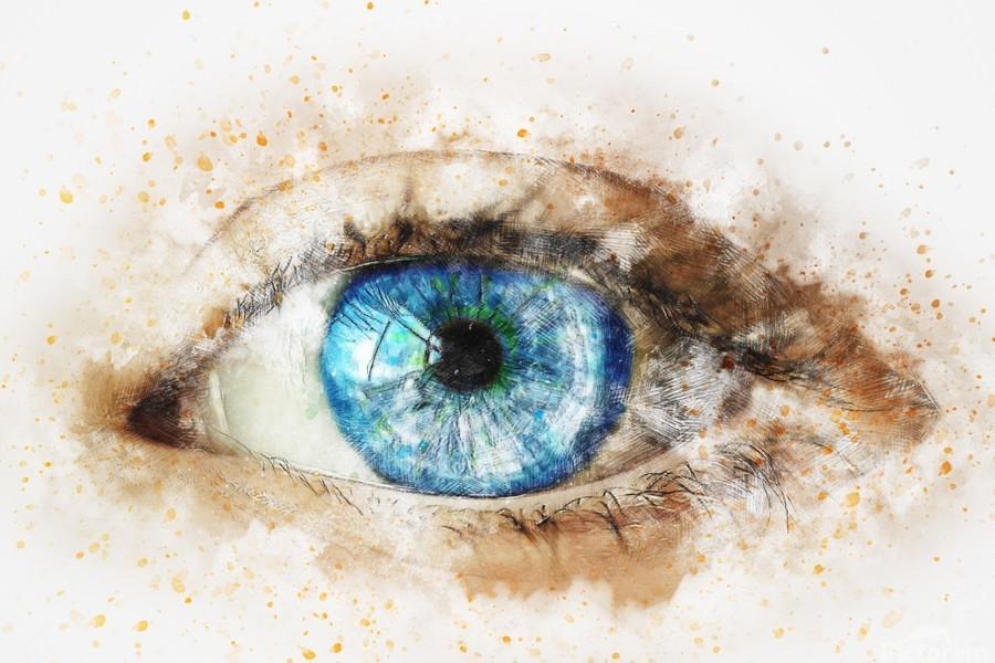 eye  Print