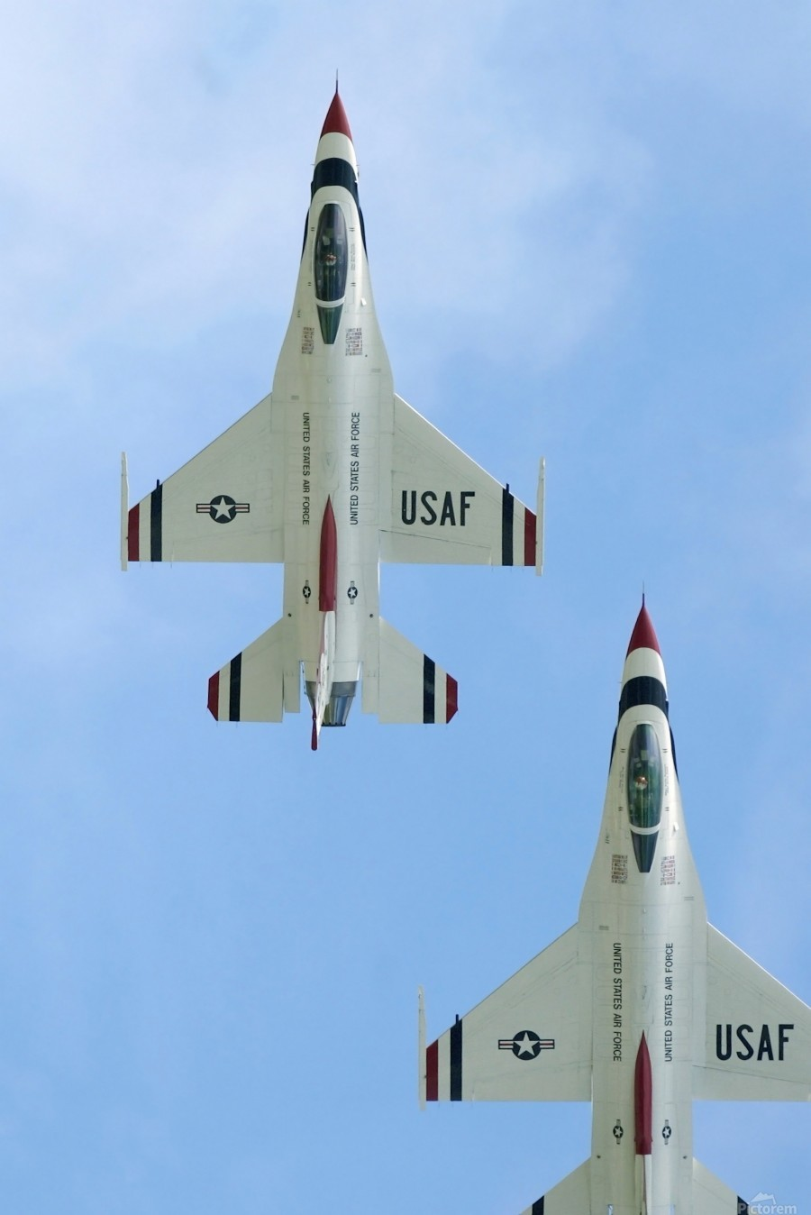 The United States Air Force Demonstration Team Thunderbirds  Print