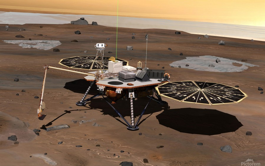Phoenix Mars Lander  Print