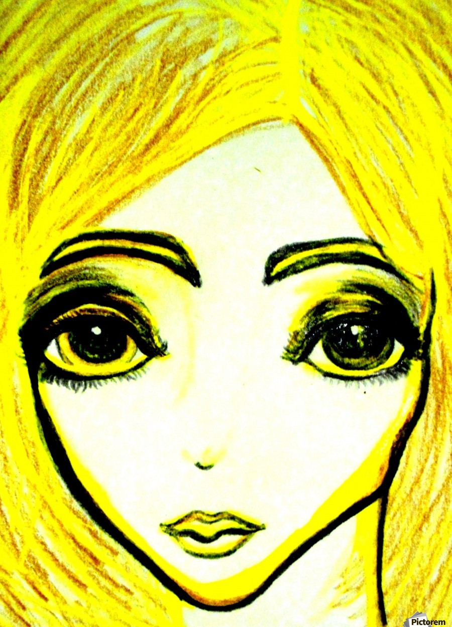 yellowgirl1  Print