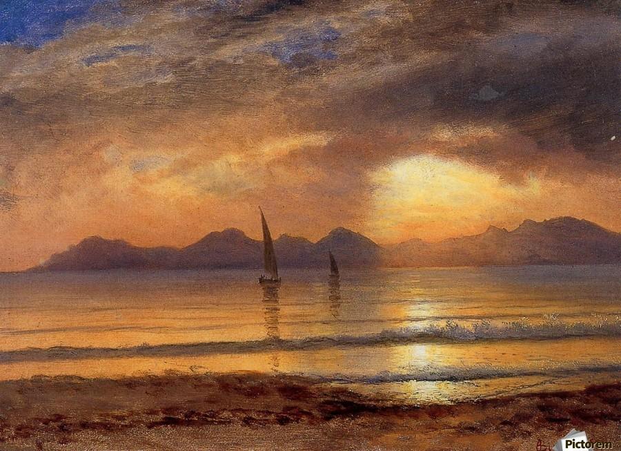 Mountain Lake Sunsets