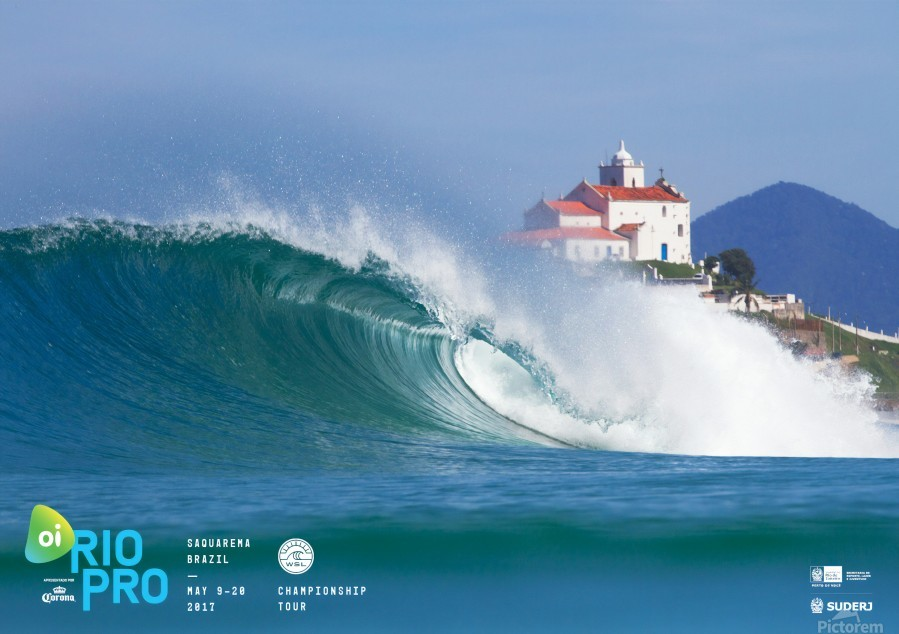 2017 RIO PRO Surf Competition Print  Print