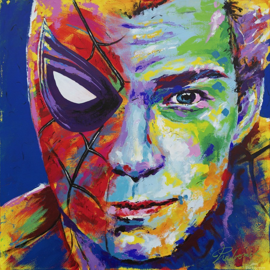 Spiderman_Portrait Art - Tadaomi -  Print
