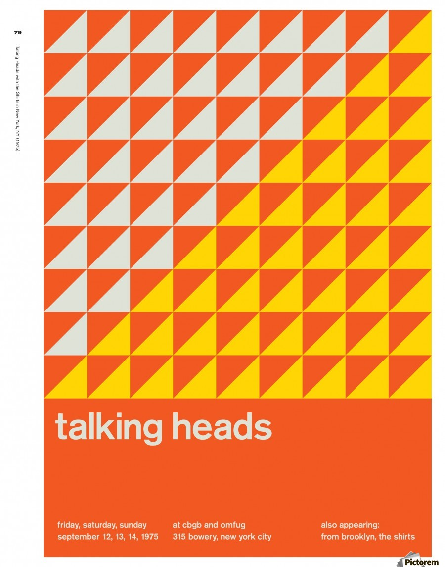 Talking heads  Print