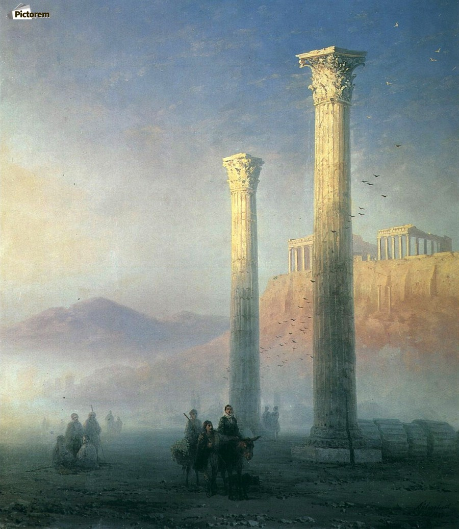 The Acropolis of Athens  Print