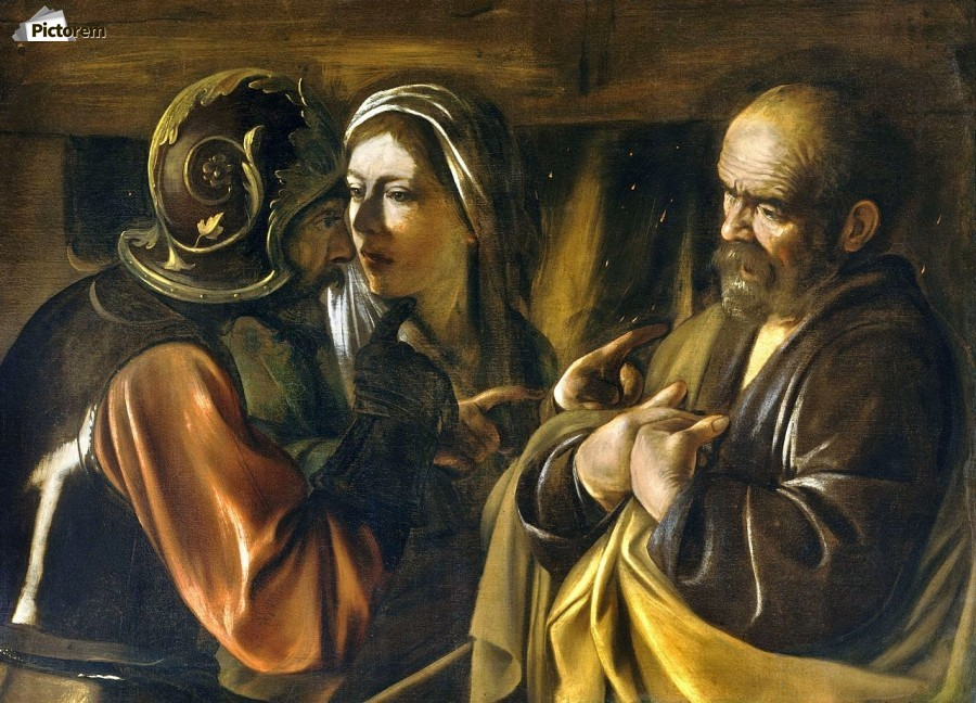 The Denial of Saint Peter  Print