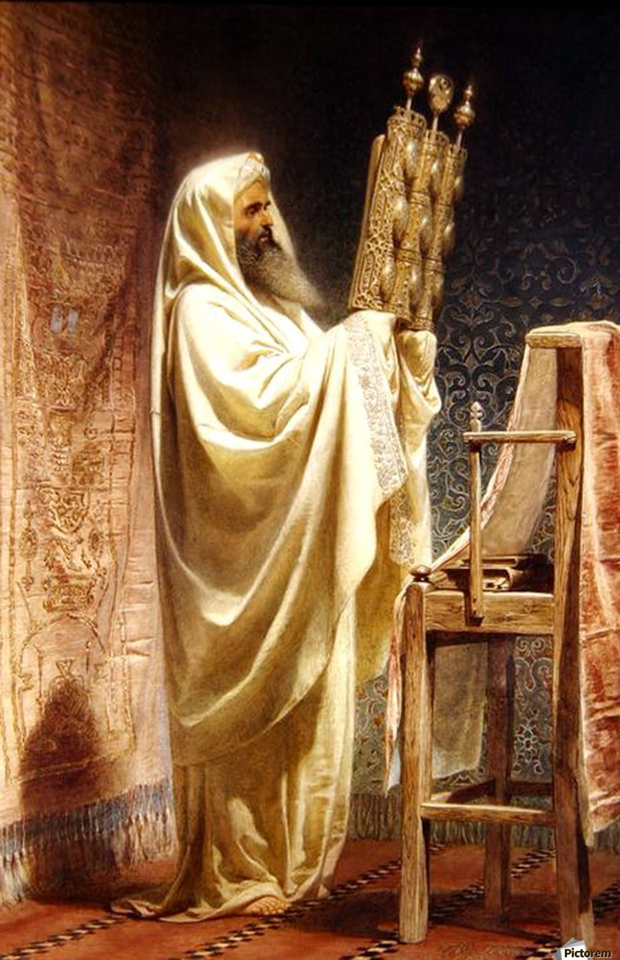 The High Priest of the Samarian  Print