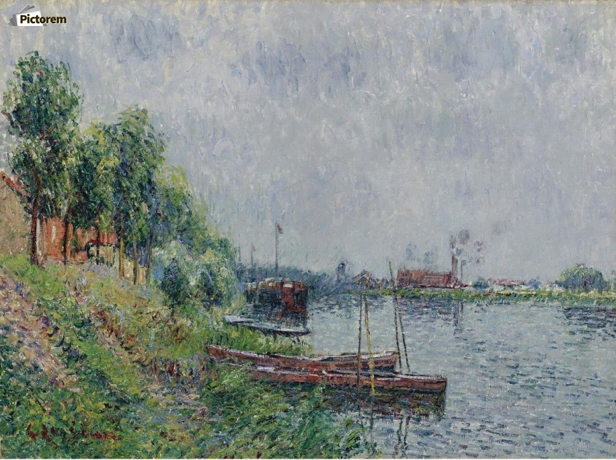 The Riverbank, Oise  Print