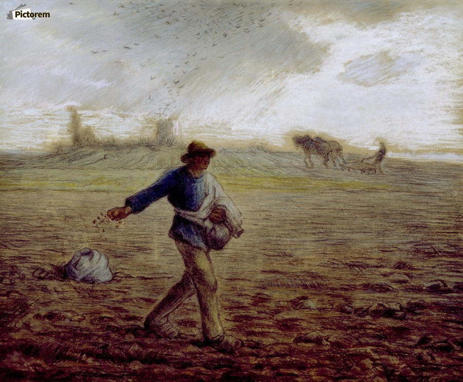 The Sower - Walters  Print