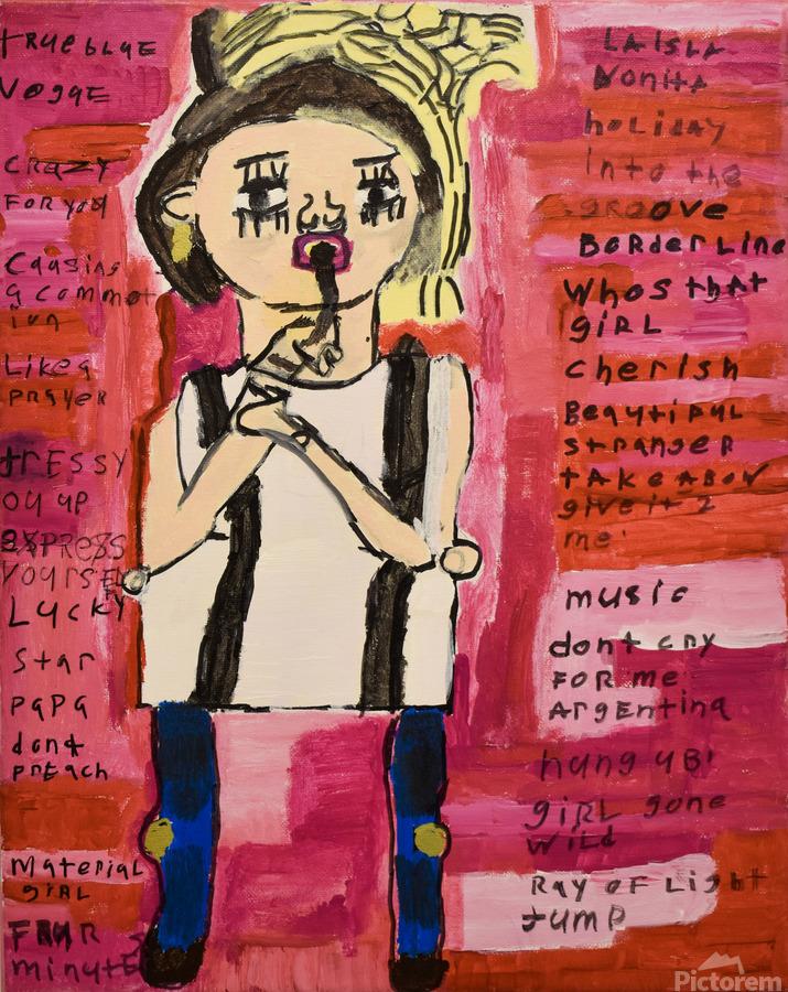 Madonna. Rick F  Print
