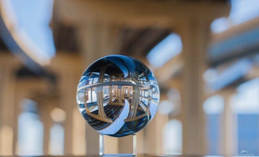 MKE Glass Ball Reflections  Print
