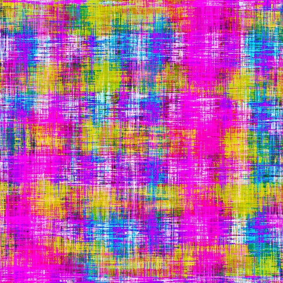 plaid pattern painting texture abstract background in pink purple blue yellow  Print
