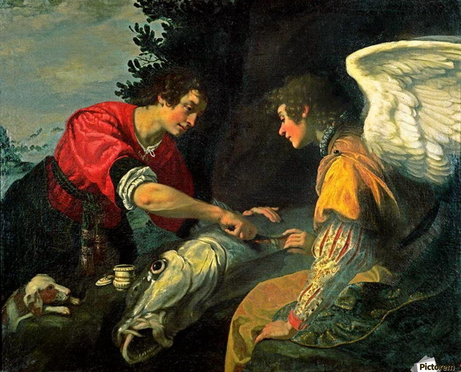The angel raphael said to the boy tobias