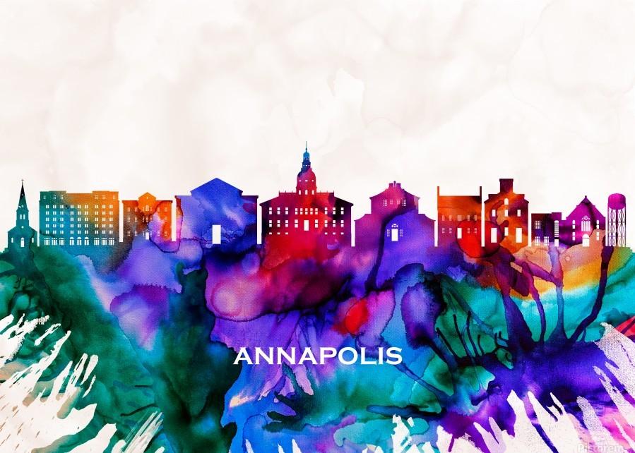 Annapolis Skyline  Print