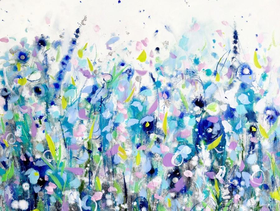 Ultramarine Meadow  Print