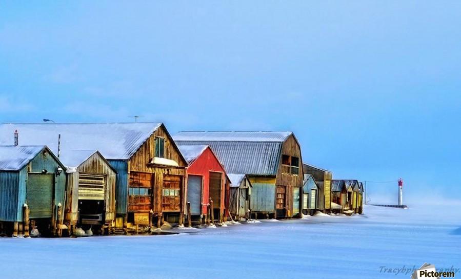 Boat Houses  Print