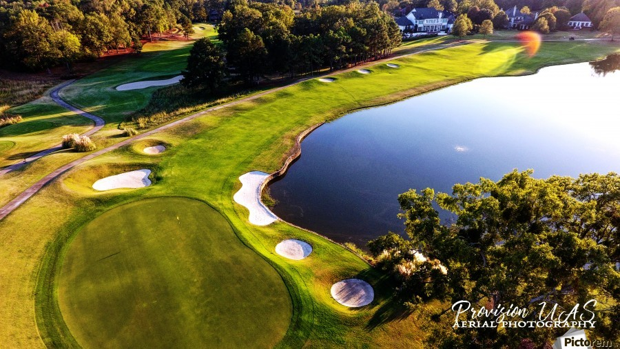 Westpoint, MS | The 18th Hole  Print