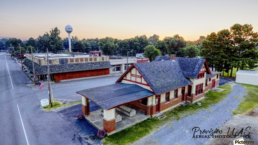 Carlisle, AR | Train Depot  Print