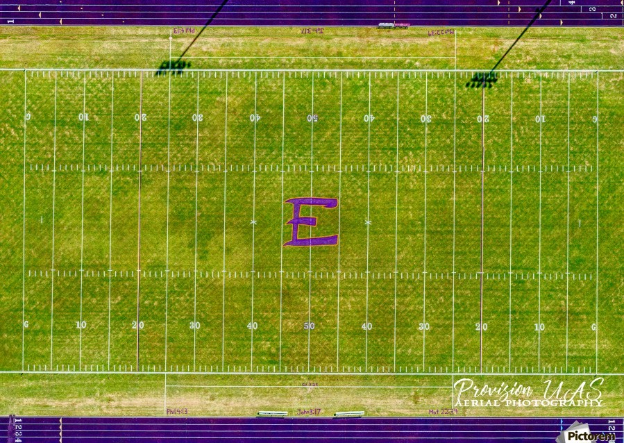 England, AR | Lions Football Field  Print