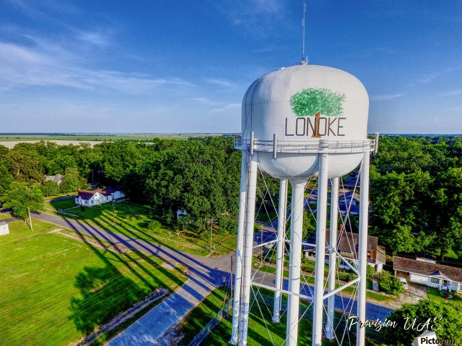 Lonoke, AR | Water Tower  Print
