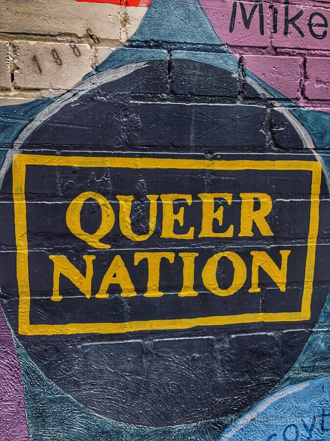 Queer Nation - Toronto  Print
