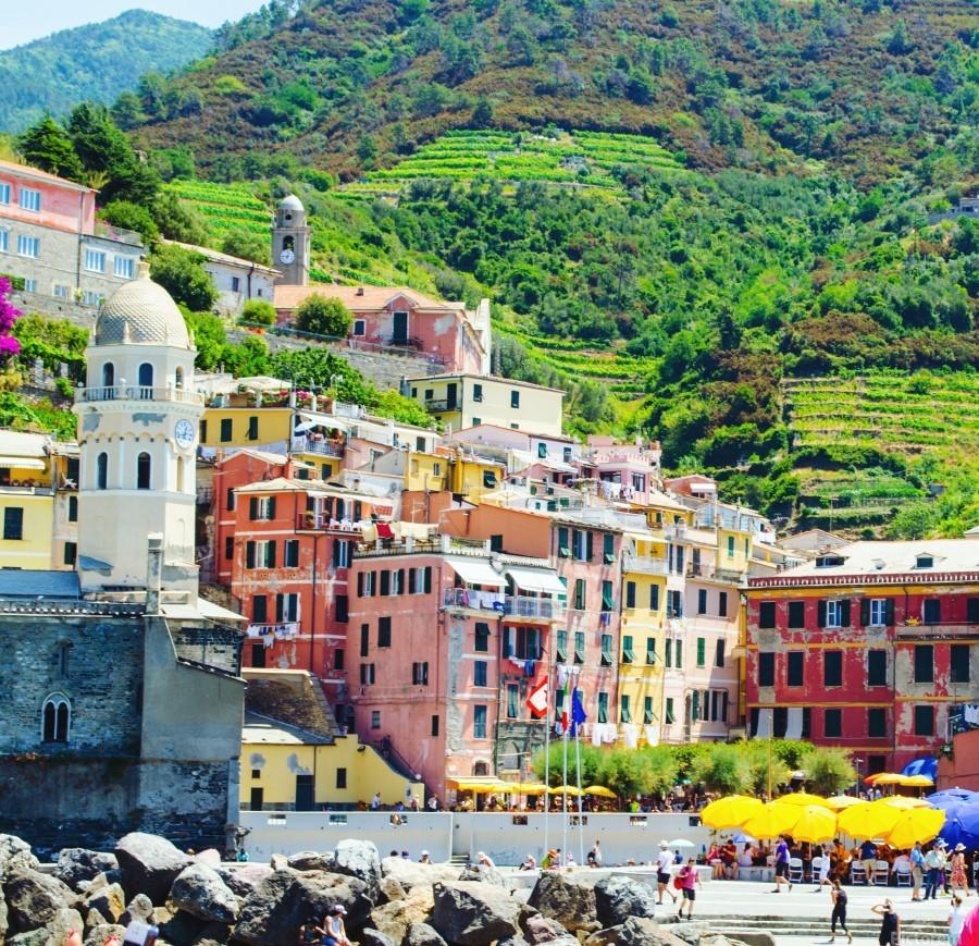 Colorful village of Cinque Terre  Print