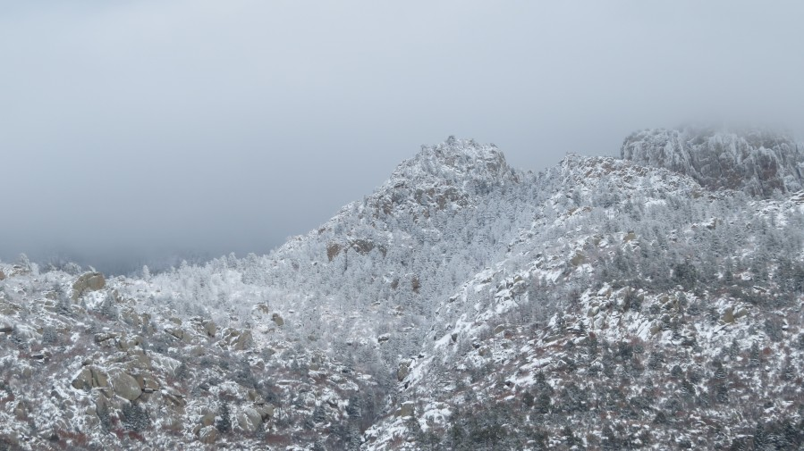 Sandia Mountains in Snow 1VP  Print