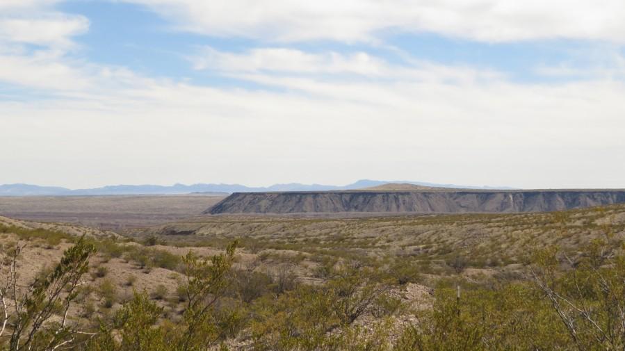 Landscape around Fort Craig VP5  Print