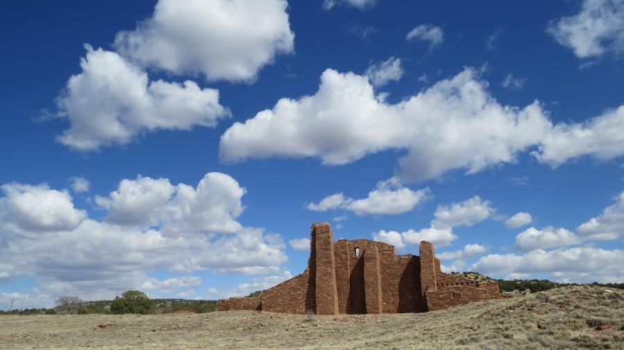 Ruins of Abo Pueblo  VP1  Print