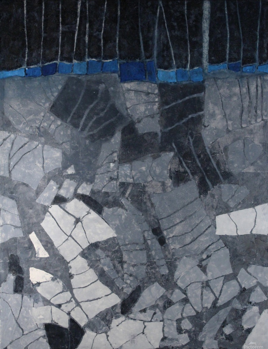 Forgotten-fields-Abstract-Painting  Imprimer