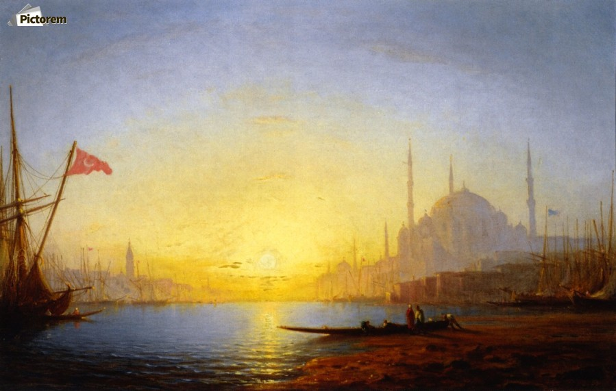 View of Constantinople  Print