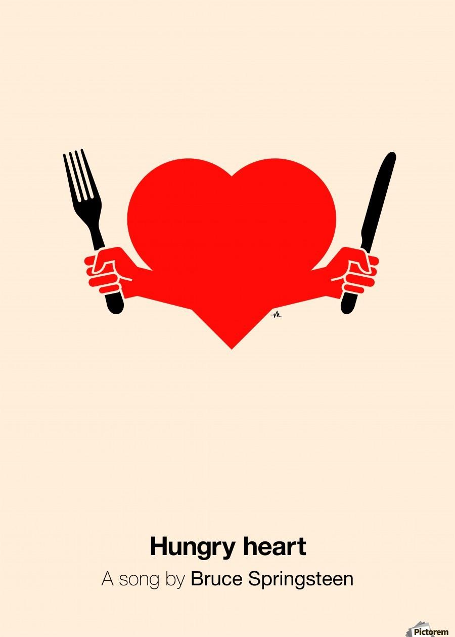 Hungry heart  Print