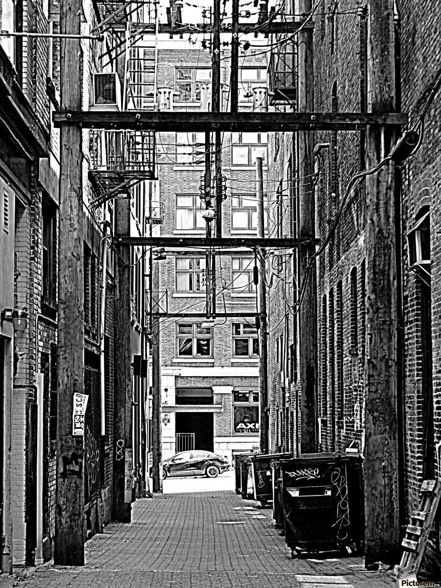 The Old Alleyways  Print
