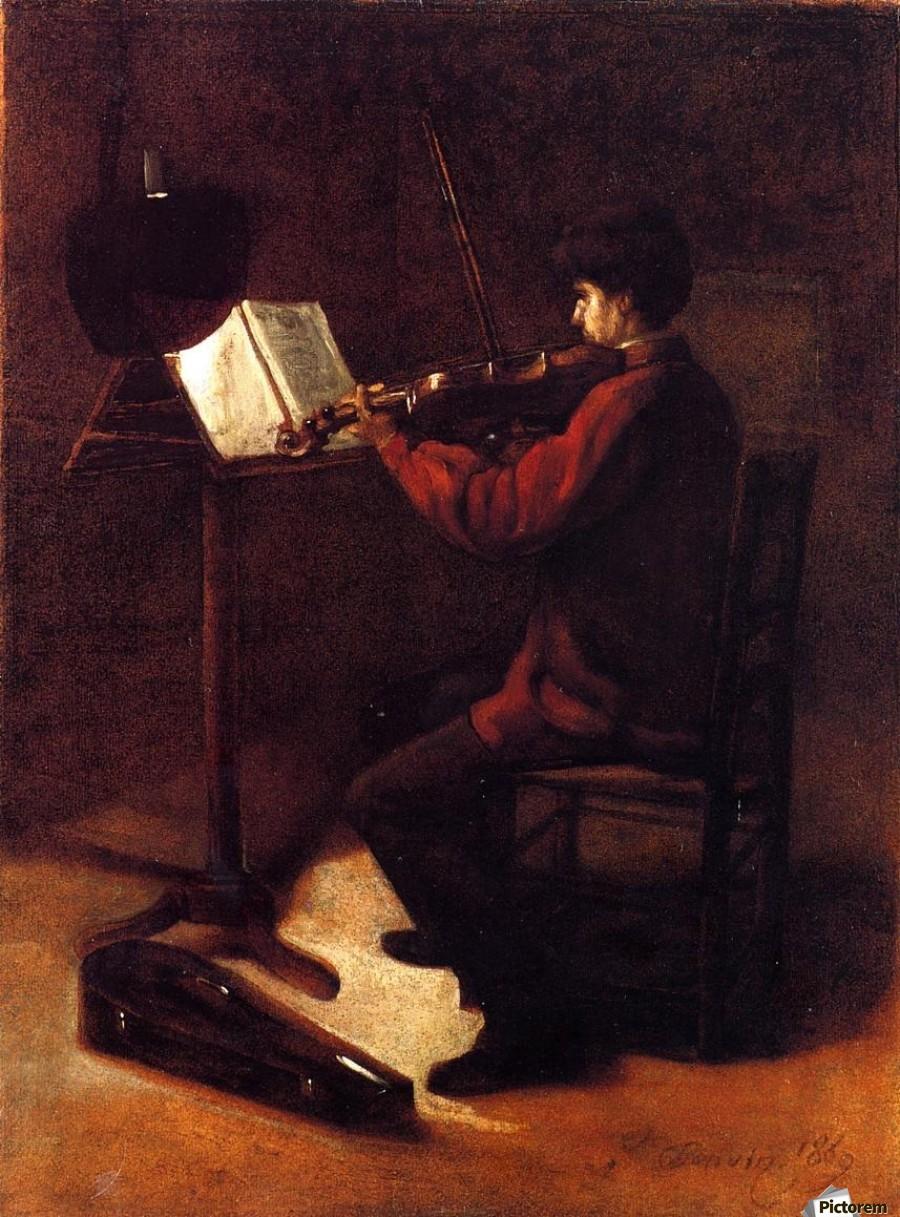 Violinist  Imprimer