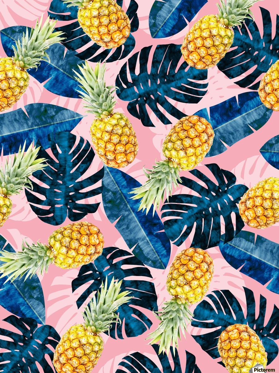 Tropical and exotic pattern  Print
