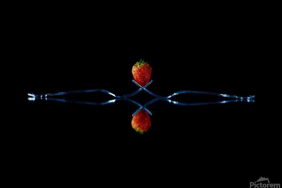 Strawberry Still Life  Print