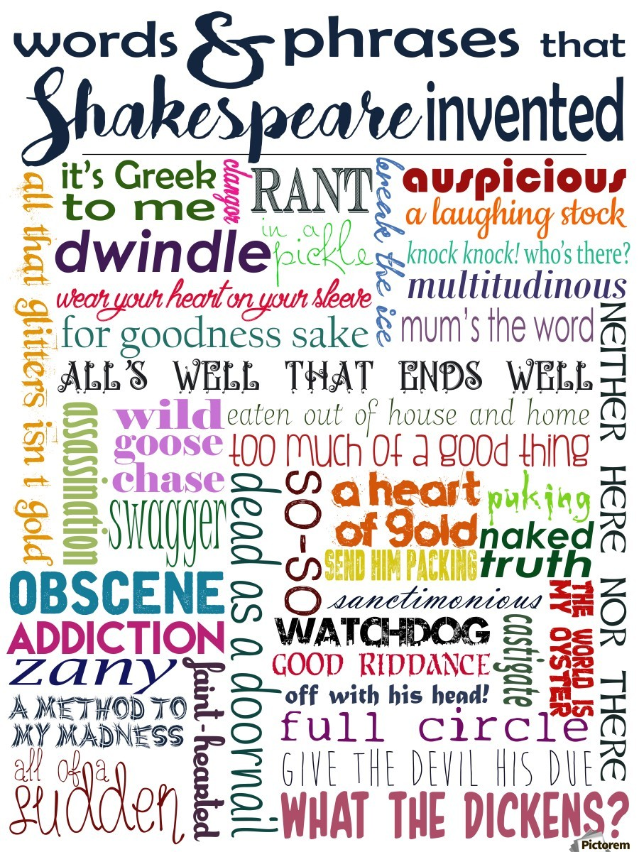 Shakespeare Words & Phrases - Whimsically Read