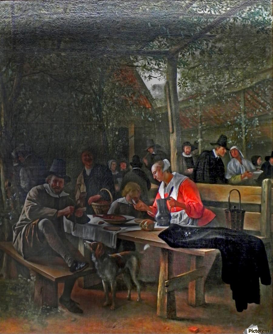 Wirtshausgarten  Print