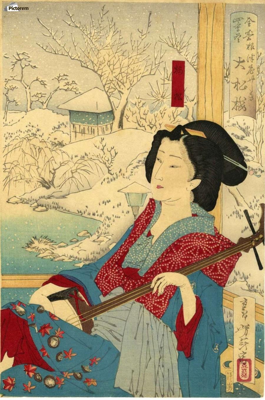 japanese print art - 500×724