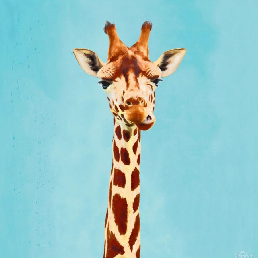 Giraff  Print