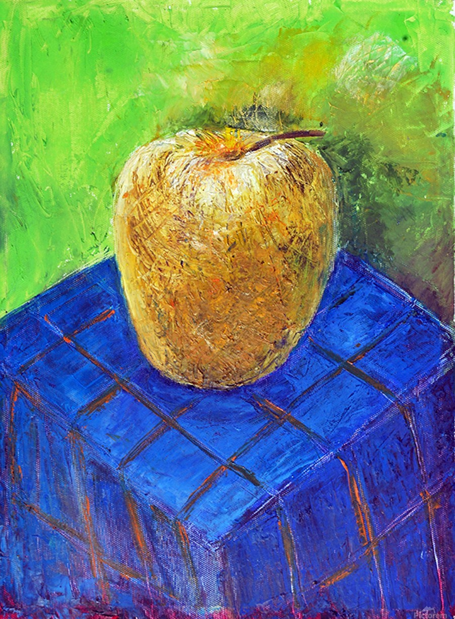 08.APPLE2014year oil on canvas 30X40 cm1500$  Print