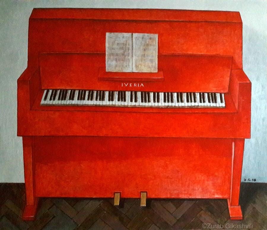 Red Piano Zurab Gikashvili