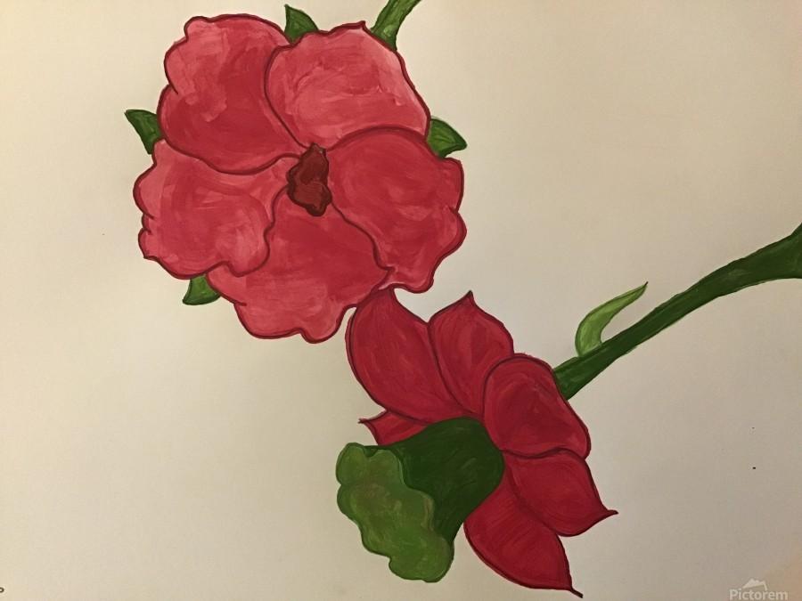 A Floral Dream  Print