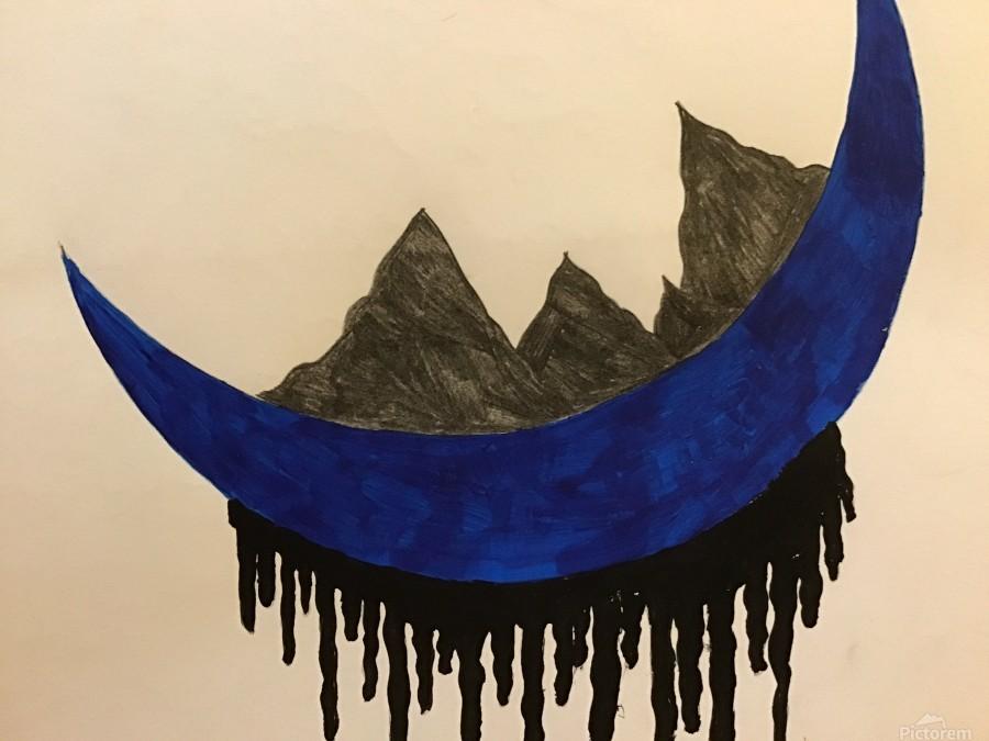 Mountains on the Moon  Print
