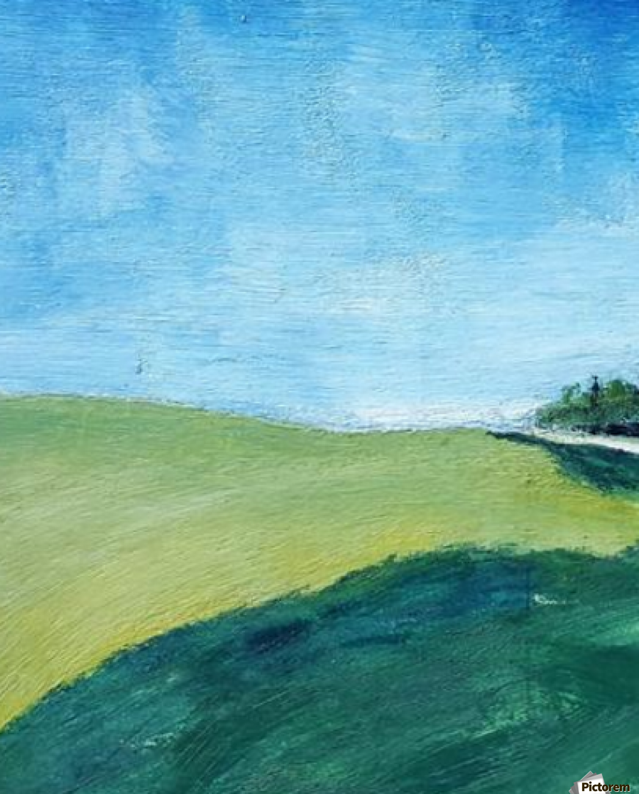 Study for Fields at Cossall  Print